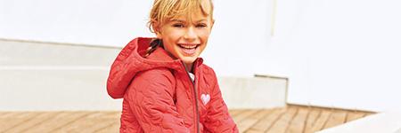 Girls Winter Long Padded Jackets & Coats