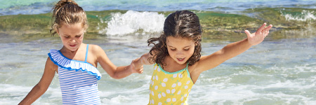 Girls Swim Wear & Bathing Suits