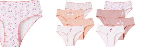 Girls Underwear, Briefs & Underpants