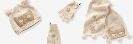 Girls Winter Hats, Gloves, Scarves & Mittens