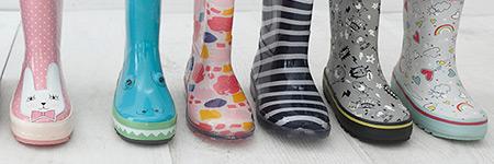 Girls Wellies & Waterproof Wellington Boots