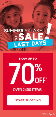 SALE Up to 70% OFF* over 2400 items last days