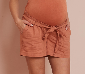 Lyocell Maternity Shorts