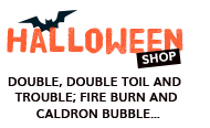 Halloween shop Something wicked this way comes