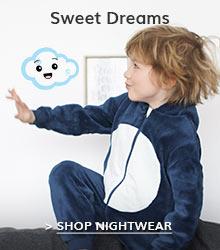 Sweet dreams... Boys Nightwear