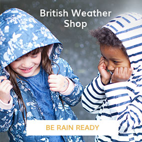 British weather shop
