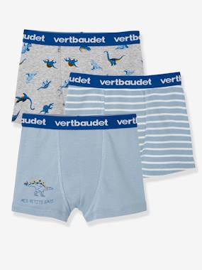 Click to view product details and reviews for Pack Of 3 Boxer Shorts For Boys Dinosaur Blue Medium Two Color Multicol.