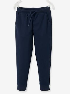 Click to view product details and reviews for Joggers For Girls Blue Dark Solid.