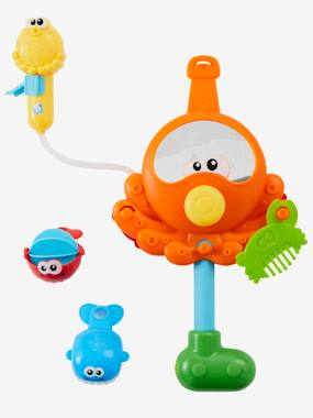 Image of Bath Time Activity Octopus with Shower muticolour