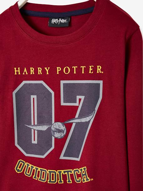 Two-tone Harry Potter® Pyjamas, for Boys RED DARK SOLID WITH DESIGN