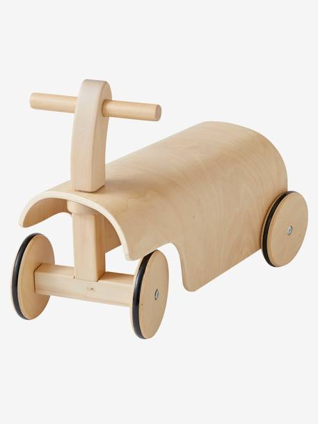 Wooden Tricycle BEIGE MEDIUM SOLID