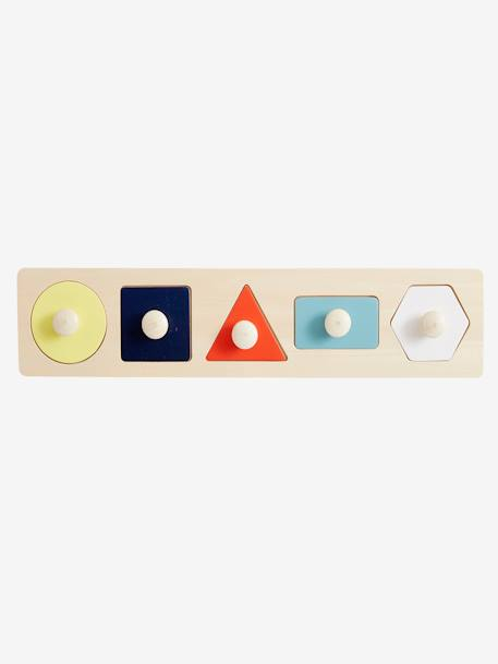 My 1st Shapes Puzzle BEIGE MEDIUM TWO COLORS/MULTIC