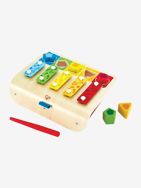 Shape Sorter Xylophone, by HAPE BEIGE LIGHT SOLID WITH DESIGN