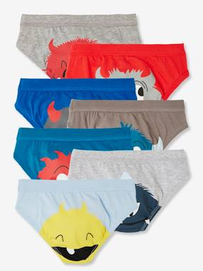 Click to view product details and reviews for Pack Of 7 Briefs Monsters Blue Medium Two Color Multicol.