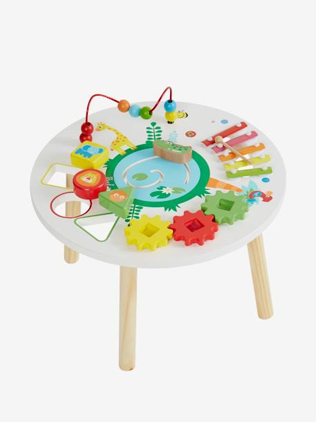 Activity Table, Savannah Theme Muticolour