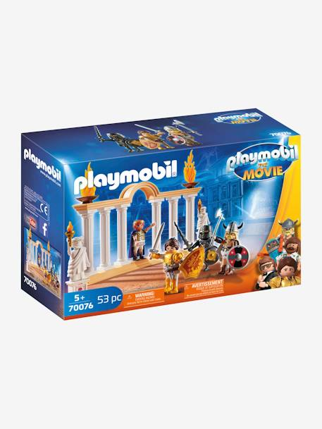 THE MOVIE Emperor Maximus in the Colosseum, by PLAYMOBIL BEIGE LIGHT SOLID WITH DESIGN