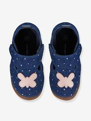 Shoes-Baby Footwear-Slippers-Girls Canvas Slippers