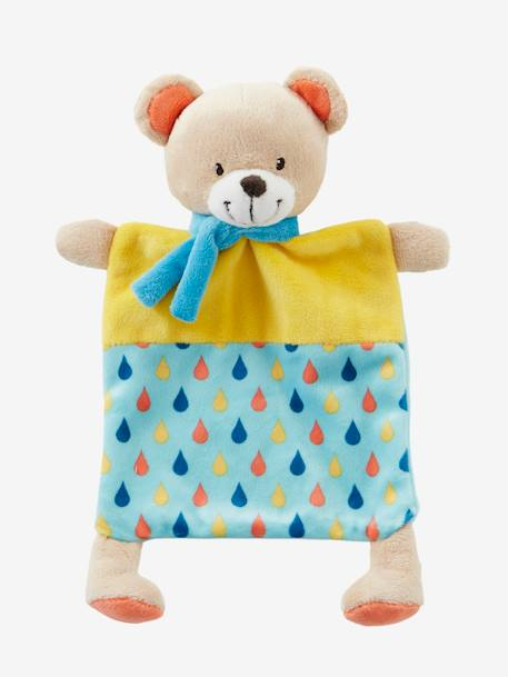 Bear Blanket Soft Toy for Baby Muticolour