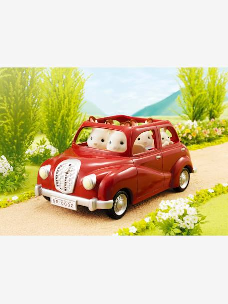 5273 - Family Saloon Car, by SYLVANIAN FAMILIES RED BRIGHT SOLID