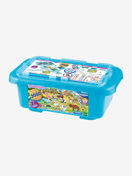 Fun Safari Case, AQUABEADS BLUE BRIGHT SOLID WITH DESIGN