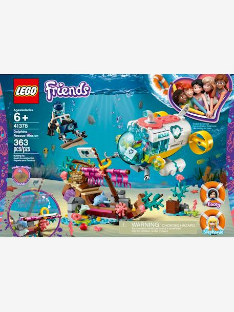41378, Dolphins Rescue Playset, by Lego Friends PINK MEDIUM SOLID WITH DESIG
