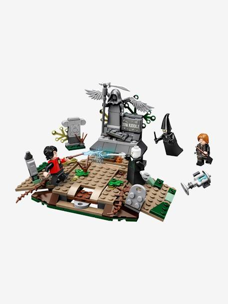 75965, The Rise of Voldemort, by Lego Harry Potter BLUE MEDIUM SOLID WITH DESIGN