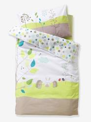 Furniture & Bedding-Baby Bedding-Baby Duvet Cover, Picnic Theme