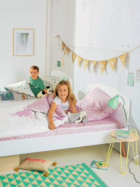 Ready-for-Bed 3-Piece Set, Fairy Theme White/light violet