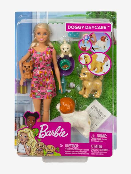 Barbie® Doggy Daycare, by MATTEL PINK MEDIUM ALL OVER PRINTED