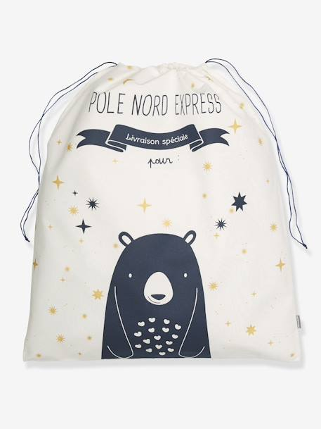 Large Toy Bag, Bear WHITE LIGHT SOLID 2
