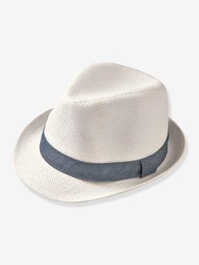 Boys Occasion Hat ivory
