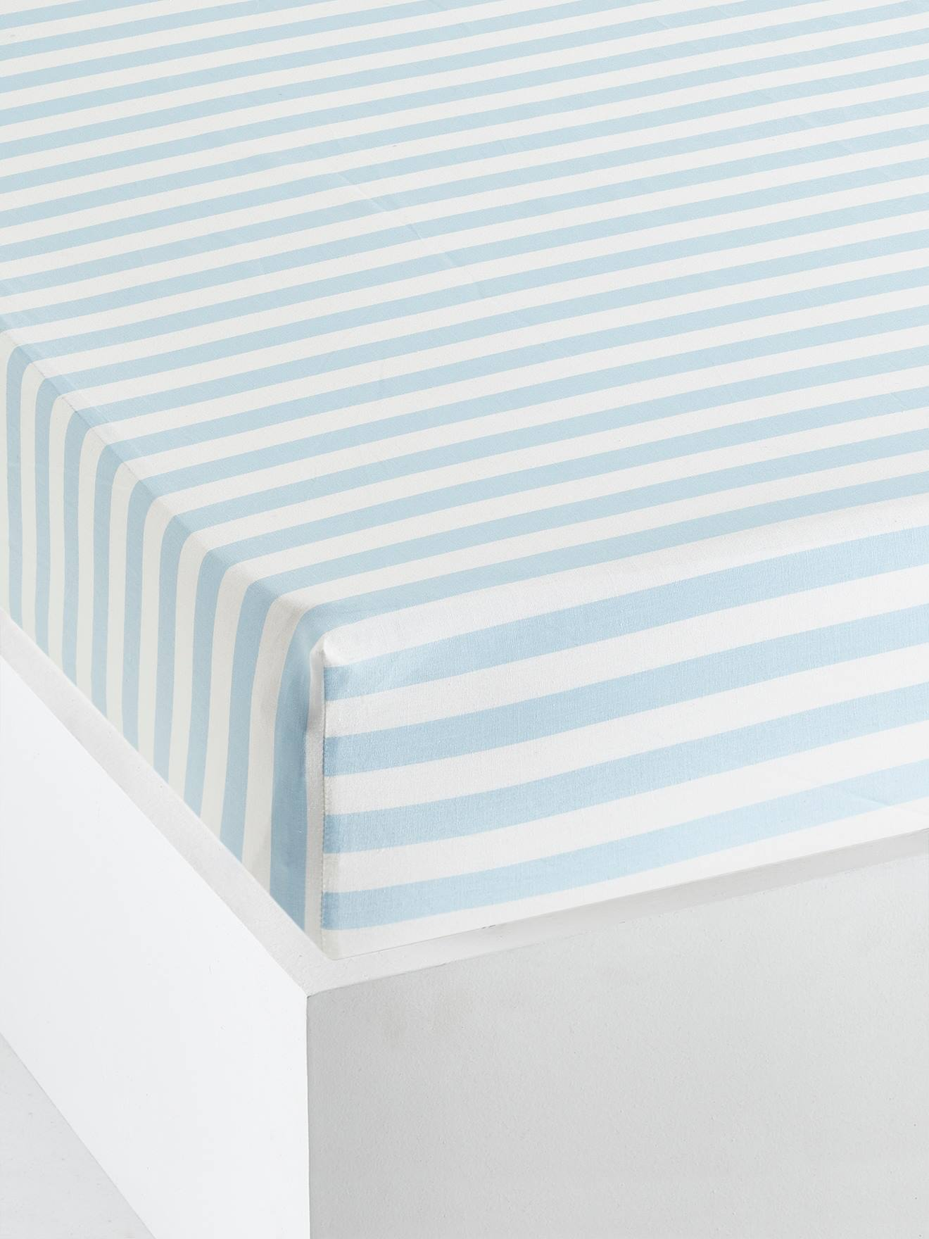 80x140 Fitted Sheet For Child With Stars