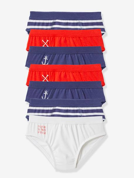 Pack of 7 Boys Briefs Assorted