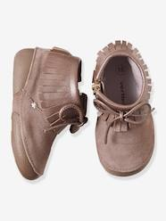 Shoes-Baby Footwear-Girls' Supple Leather Slippers