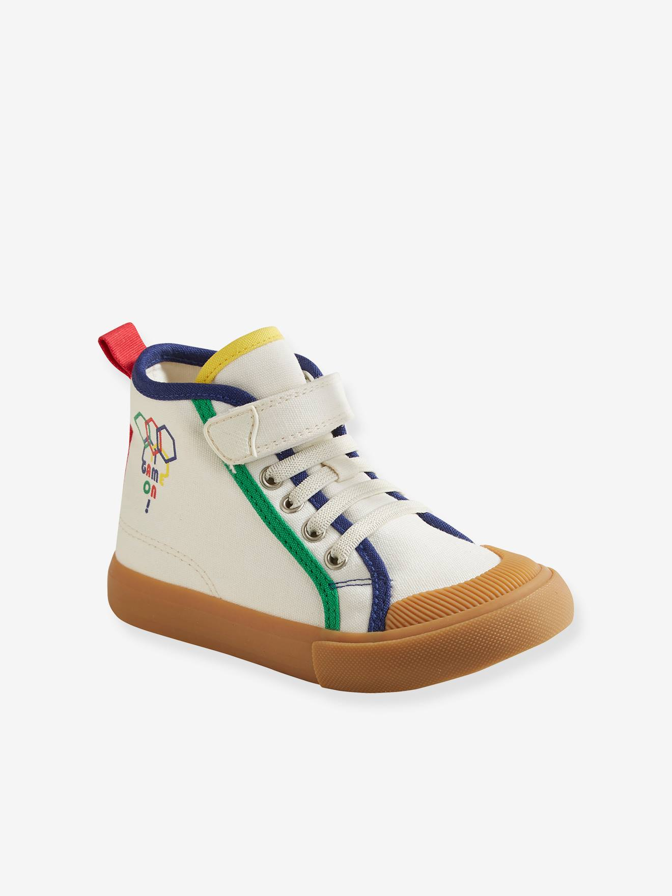 High-Top Trainers for Boys, Designed