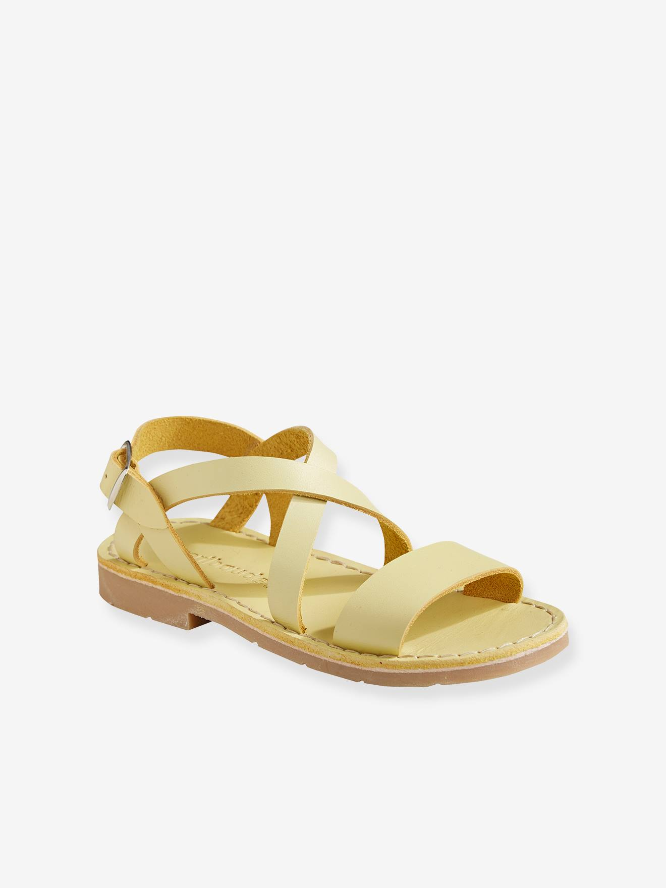 Vegetable Tanned Leather Sandals for