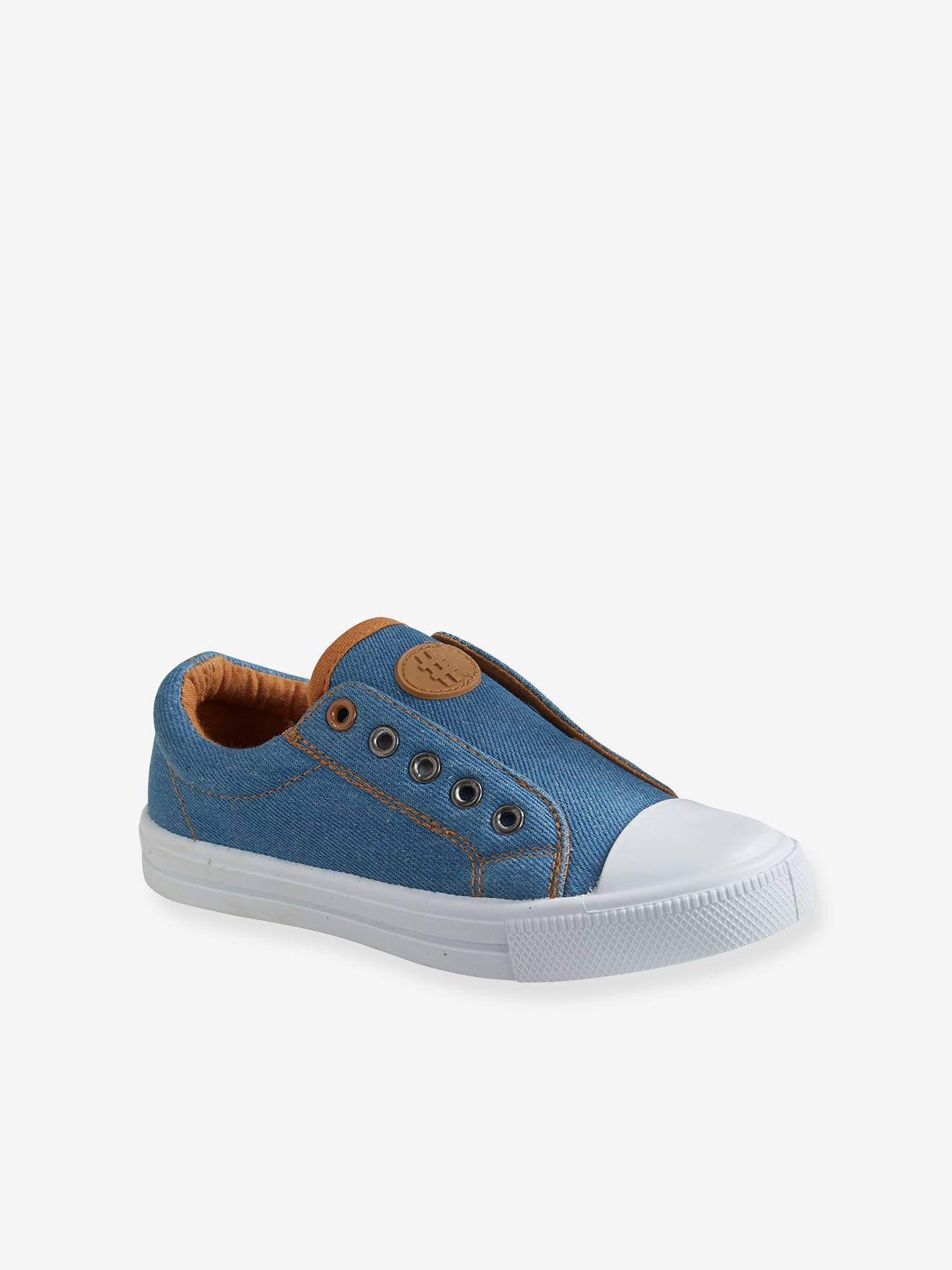 Elasticated Canvas Trainers for Boys