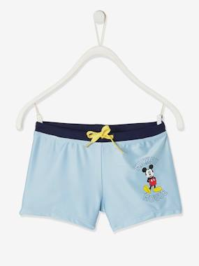 Click to view product details and reviews for Swim Shorts Disney® Mickey Blue Light Solid With Design.