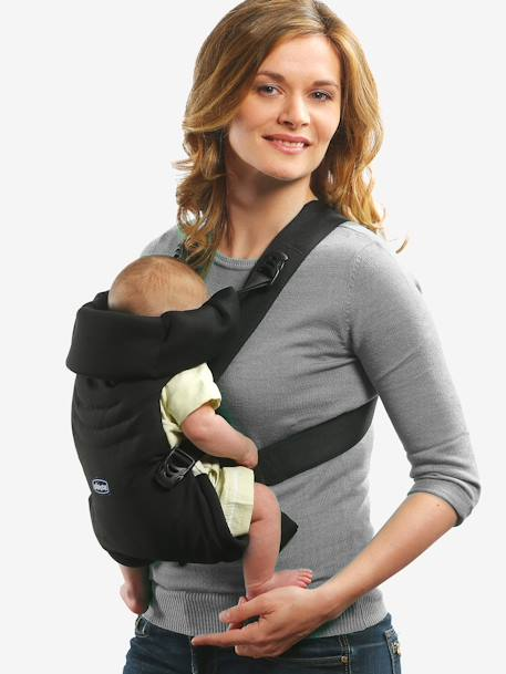 CHICCO Easyfit Ergonomic Baby Carrier BLACK LIGHT SOLID
