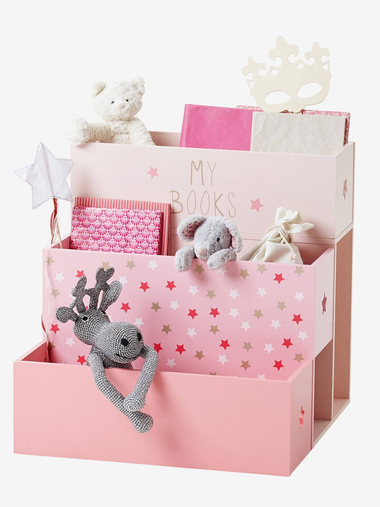 bookcase star bedroom doll pin house s pink sling toddler