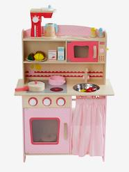 Toys-Kitchen Toys-Large Wooden Play Kitchenette