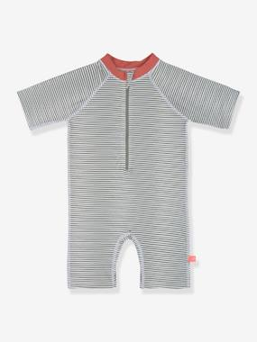 Click to view product details and reviews for Uv Protection Swim Playsuit By LÄssig For Babies Blue Medium Striped.