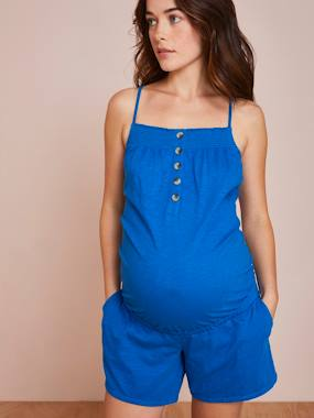 Click to view product details and reviews for Playsuit For Maternity Nursing Blue Dark Solid.