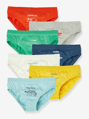 Click to view product details and reviews for Pack Of 7 Dino Briefs For Boys Green Bright Solid With Desig.