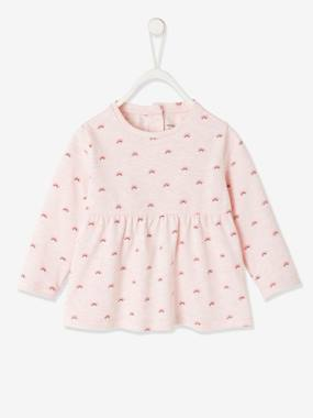 Click to view product details and reviews for Long Sleeve Top For Baby Girls Pink Light Mixed Color.