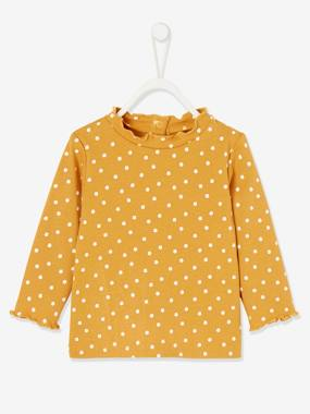 Click to view product details and reviews for Printed Top For Babies Orange Medium All Over Printed.
