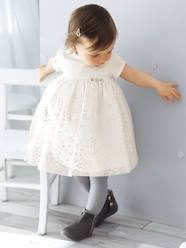 Baby-Baby Girls' Silvery Tulle Dress