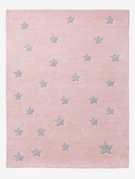 Star Rug Blush / stars+Grey / stars
