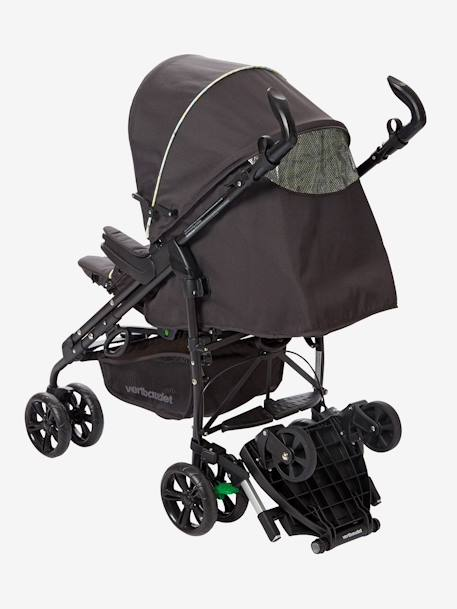 VERTBAUDET Wheel Board Wheeled Board for Pushchair Grey stars