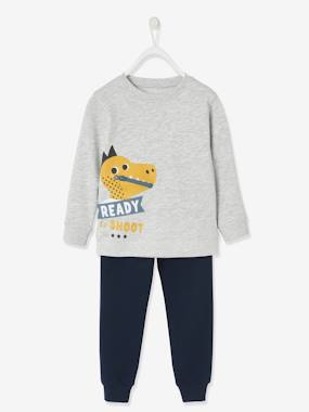 Click to view product details and reviews for Sports Combo Playful Sweatshirt Joggers For Boys Grey Light Mixed Color.